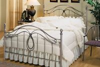 Hillsdale Furniture Milano Bed Set with with Rails, Queen, Antique Pewter