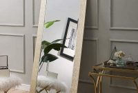 Naomi Home Mosaic Style Full Length Floor Mirror Gold