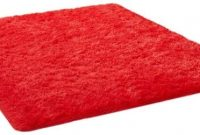 Picturesque Shaggy Fluffy Rugs Anti-Skid Area Rug Dining Room Carpet Bedroom Floor Mat
