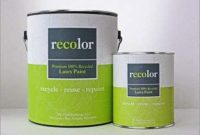 RECOLOR Paint 100% Recycled Interior Latex Paint Wall Finish, 1 Gallon, Interior - White (Semi-Gloss)