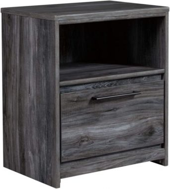 Signature Design by Ashley Baystorm Nightstand, Gray
