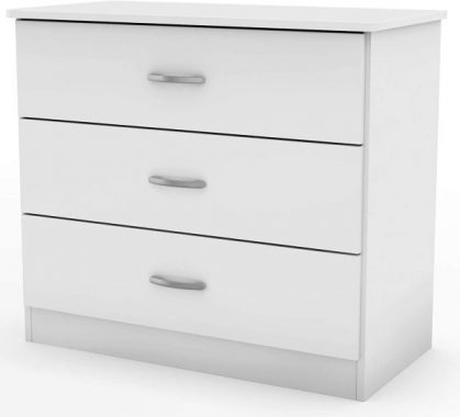 South Shore Libra 3-Drawer Chest-Pure White