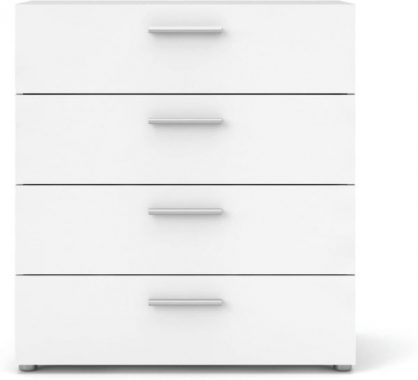 Tvilum Austin 4 Drawer Chest, White