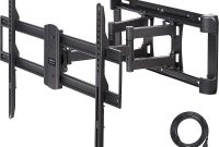 AmazonBasics Dual Arm Full Motion TV Mount - 37-Inch to 80-Inch
