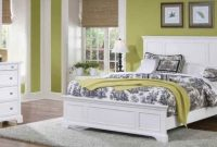 Home Styles Naples White Queen Bed, Night Stand and Chest with Head and Footboard, Drawers, and Open Storage Area