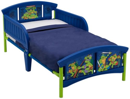 Delta Children Plastic Toddler Bed, Teenage Mutant Ninja Turtles