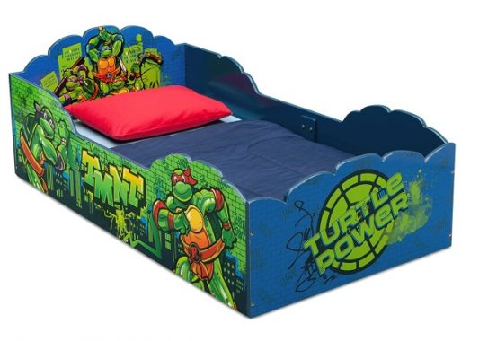 Delta Children Wood Toddler Bed, Nickelodeon Teenage Mutant Ninja Turtles