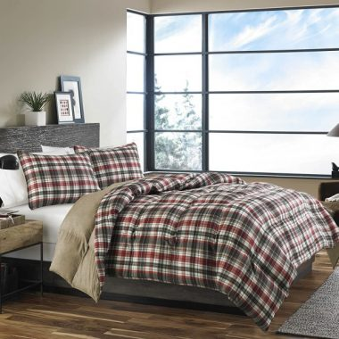 Eddie Bauer Astoria Down Alt Comforter Set, Full-Queen