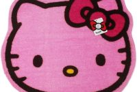 Hello Kitty Pink Colored Floor Rug