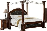 Lara Brown Cherry Canopy Cal King Bed