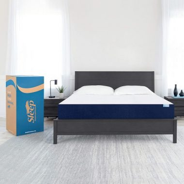Sleep Innovations Marley 10-inch Memory Foam Mattress, King, White
