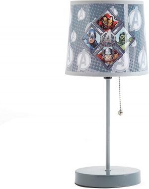 Marvel Avengers Stick Lamp, Grey