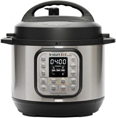 Instant Pot Duo Mini 3 Qt 7-in-1 Multi- Use Programmable Pressure Cooker, Slow Cooker, Rice Cooker, Steamer, Sauté, Yogurt Maker and Warmer, Stainless Steel - Black