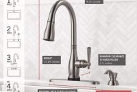 Delta Charmaine Single-Handle Pull-Down Sprayer Kitchen Faucet with Touch2O and ShieldSpray Technologies in Stainless